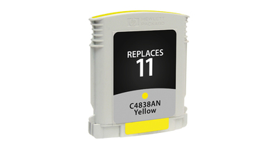 HP11 C4838AN ---YELLOW (Item#625)... (INK REFILL)